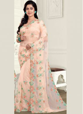 Urbane Embroidered Classic Saree
