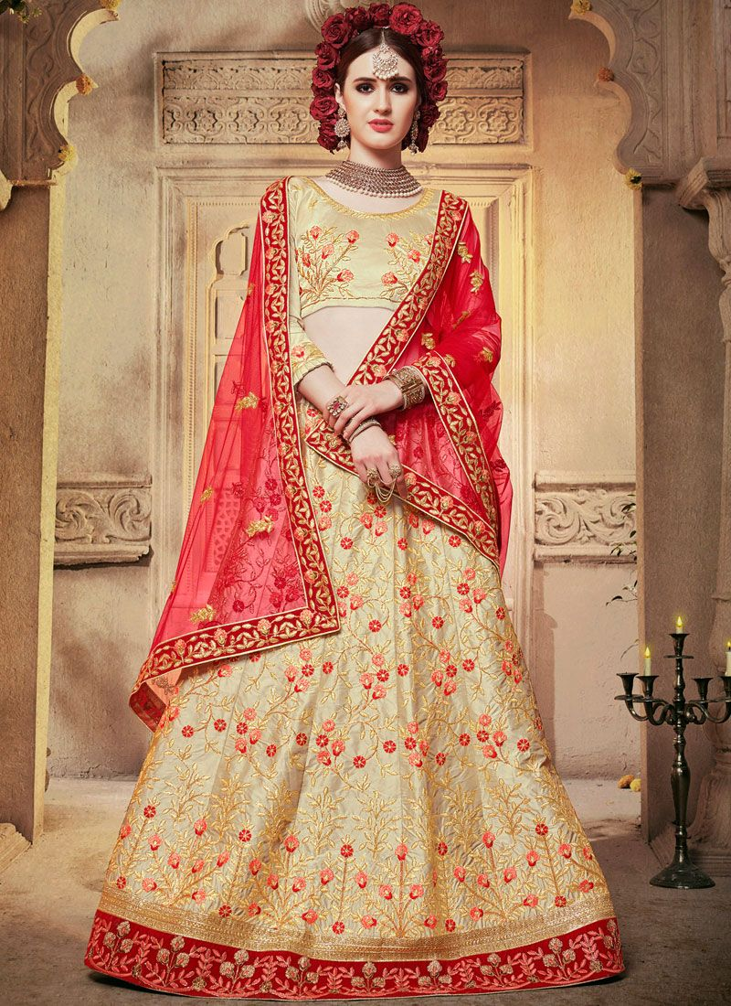 Vibrant Lehenga Choli For Mehndi