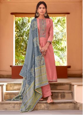Viscose Pink Pant Style Suit