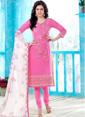 Vivacious Cotton   Casual Churidar Suit