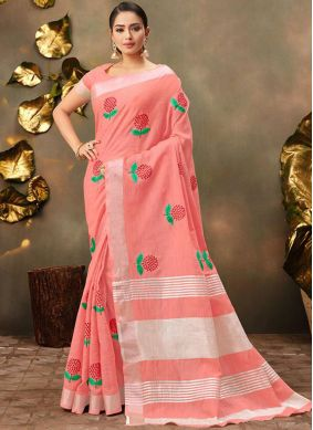 Vivacious Trendy Saree For Casual