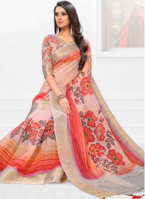 Voluptuous Casual Saree For Party