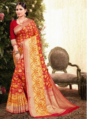 Weaving Ceremonial Classic Designer Saree