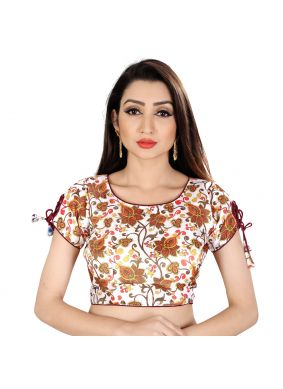 White Color Designer Blouse
