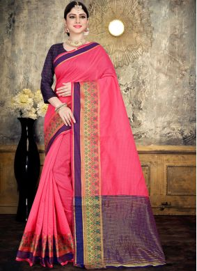 Winsome Cotton Festival Saree