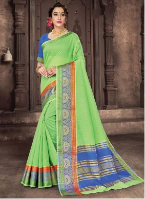 Woven Engagement Traditional Saree