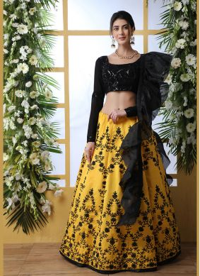 Yellow Festival Lehenga Choli